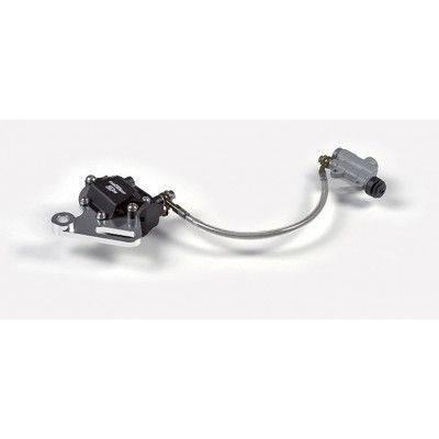 Manubrio in alluminio senza traversino (spugna inclusa) NERO