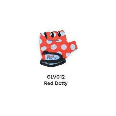 GLOVES - RED DOTTY (MEDIUM)
