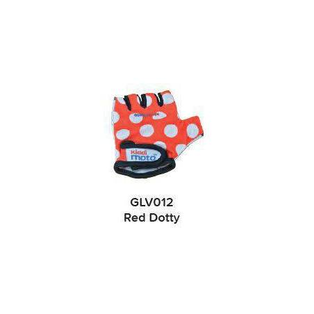 GLOVES - RED DOTTY (MEDIUM)