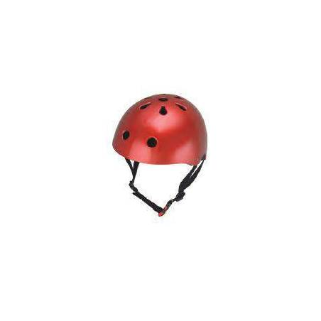 HELMET - METALLIC RED (MEDIUM)