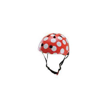 HELMET - RED DOTTY (MEDIUM)