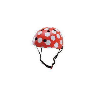 HELMET - RED DOTTY (SMALL)