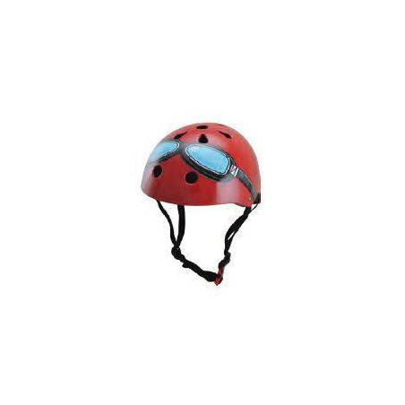 HELMET - RED GOOGLE (MEDIUM)