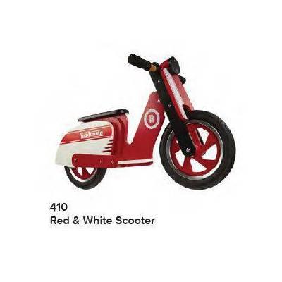 KIDDIMOTO SCOOTER - RED / WHITE