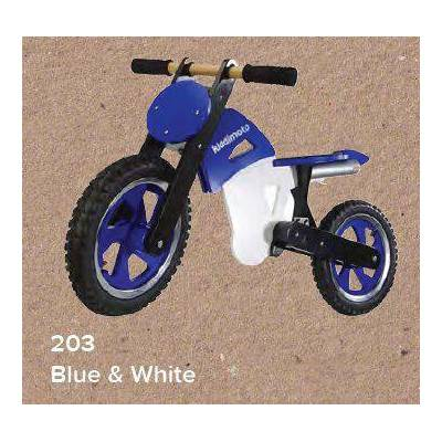 KIDDIMOTO SCRAMBLER - BLUE / WHITE