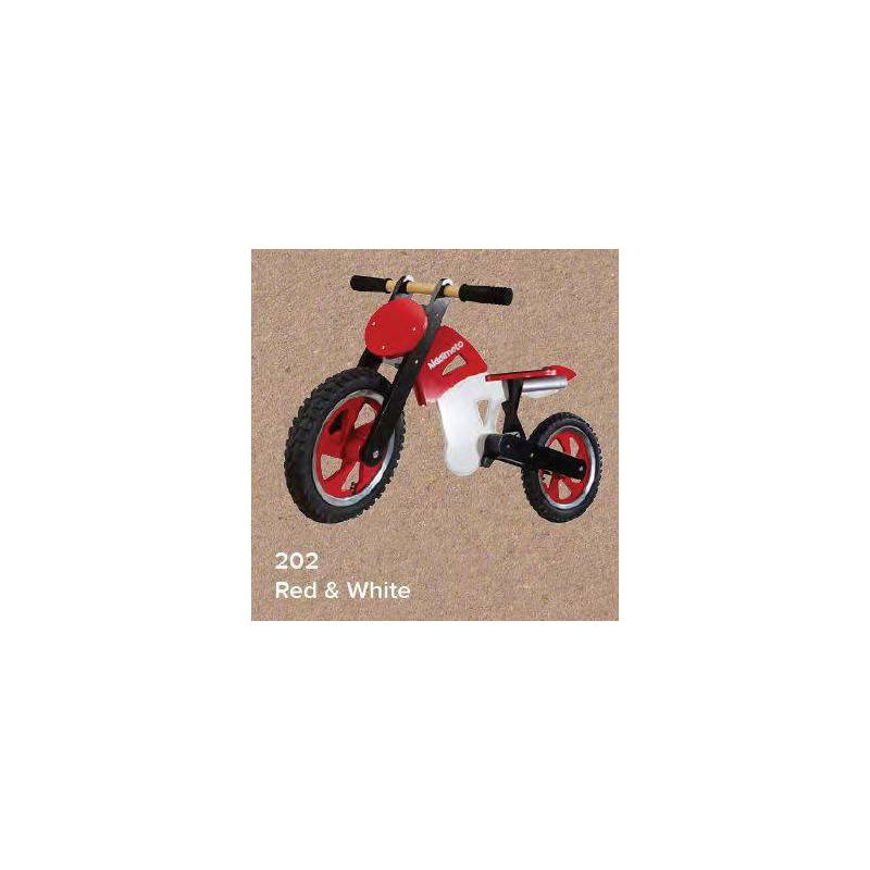 KIDDIMOTO SCRAMBLER - RED / WHITE