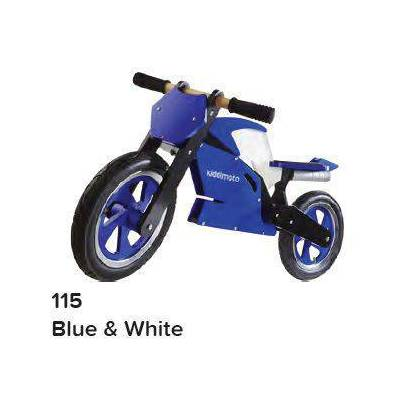 KIDDIMOTO SUPERBIKE - BLUE / WHITE