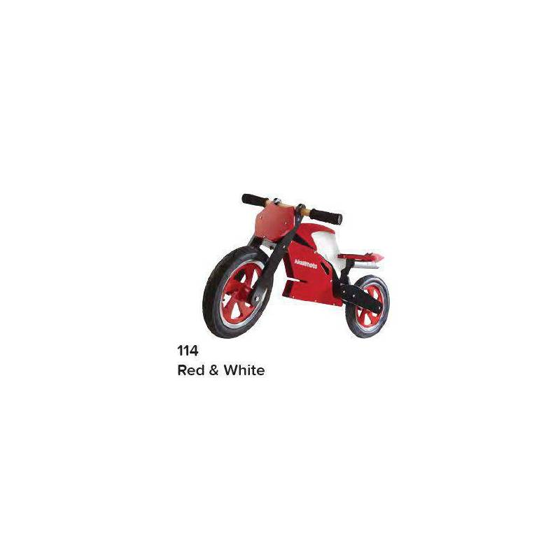 KIDDIMOTO SUPERBIKE - RED / WHITE