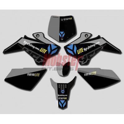 Parafango anteriore YCF NERO