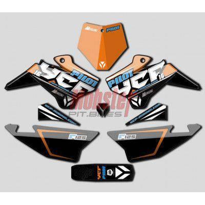 Parafango posteriore YCF BIANCO 2016 (solo per Pilot e Factory)