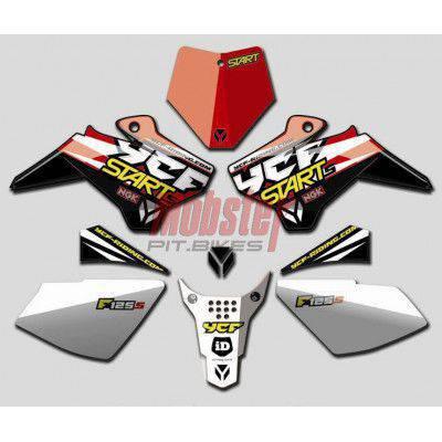 Parafango posteriore YCF ROSSO