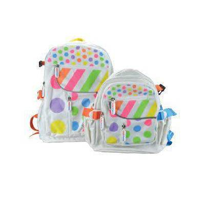 PASTEL DOTTY SMALL BACK PACK