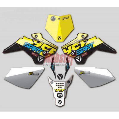 Motociclo YCF SM 155 SPECIAL MOBSTER 2017