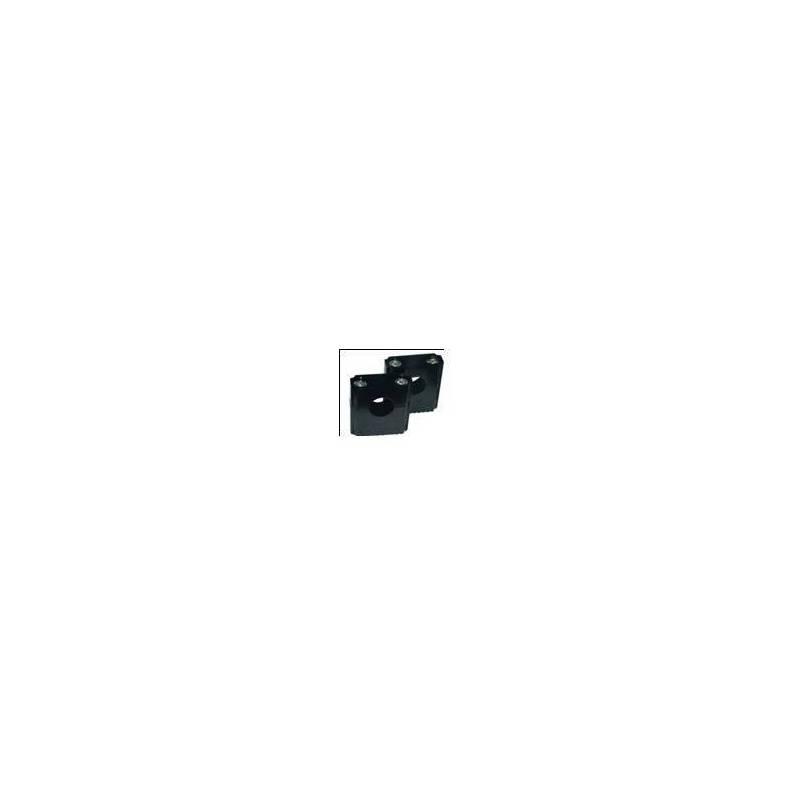 Supporti manubrio regolabili per manubrio f22.2mm / altezza 35 mm