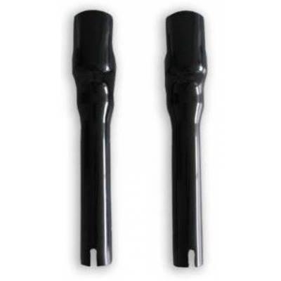 FLAT Trasck coppia protezioni forcelle 650mm Nero