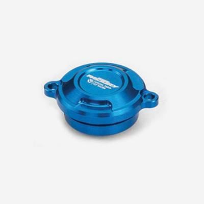 Cover filtro olio per 150 CRF/KLX - BLU