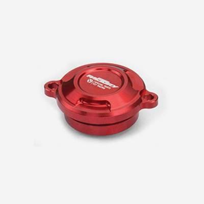 Cover filtro olio per 150 CRF/KLX - ROSSO