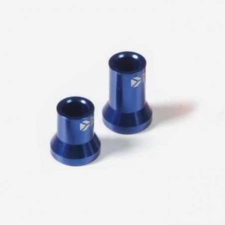 Kit distanziali ruota CNC ANTERIORE – BLU(L:F15F22F25×33 R:F15F22F25×23)