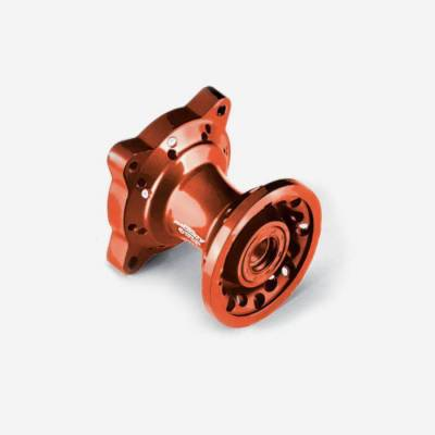 Mozzo ruota anteriore CNC ARANCIONE