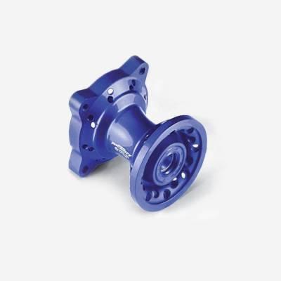 Mozzo ruota anteriore CNC BLU