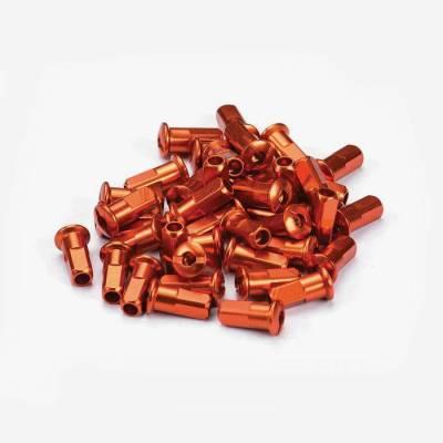 Set testa raggio ruota anodizzato - arancione