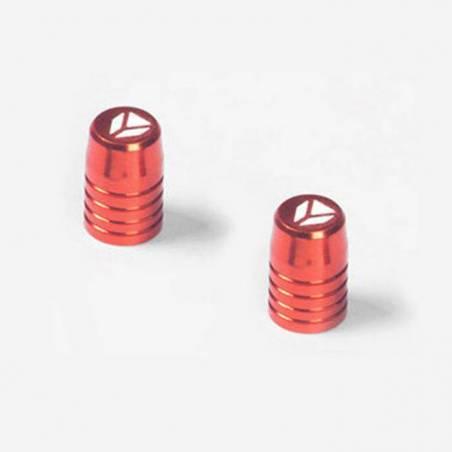 Tappini valvola in CNC - ARANCIONE