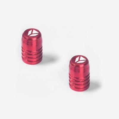 Tappini valvola in CNC - ROSSO