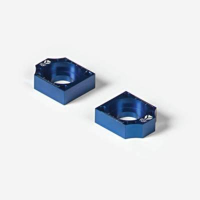 Coppia tendicatena in CNC anodizzato  - BLU