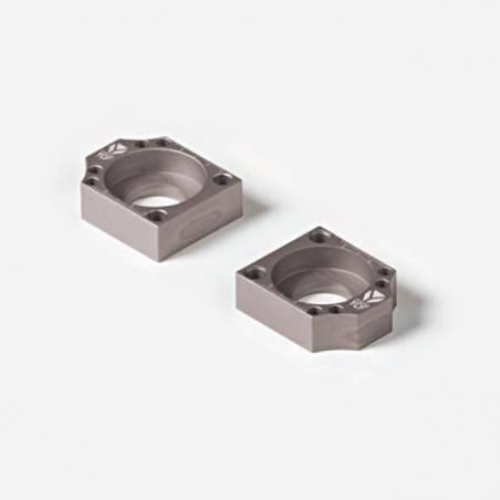 Coppia tendicatena in CNC anodizzato  - SILVER