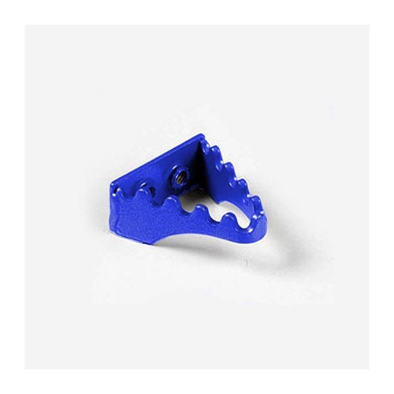 Puntale freno in alluminio blu