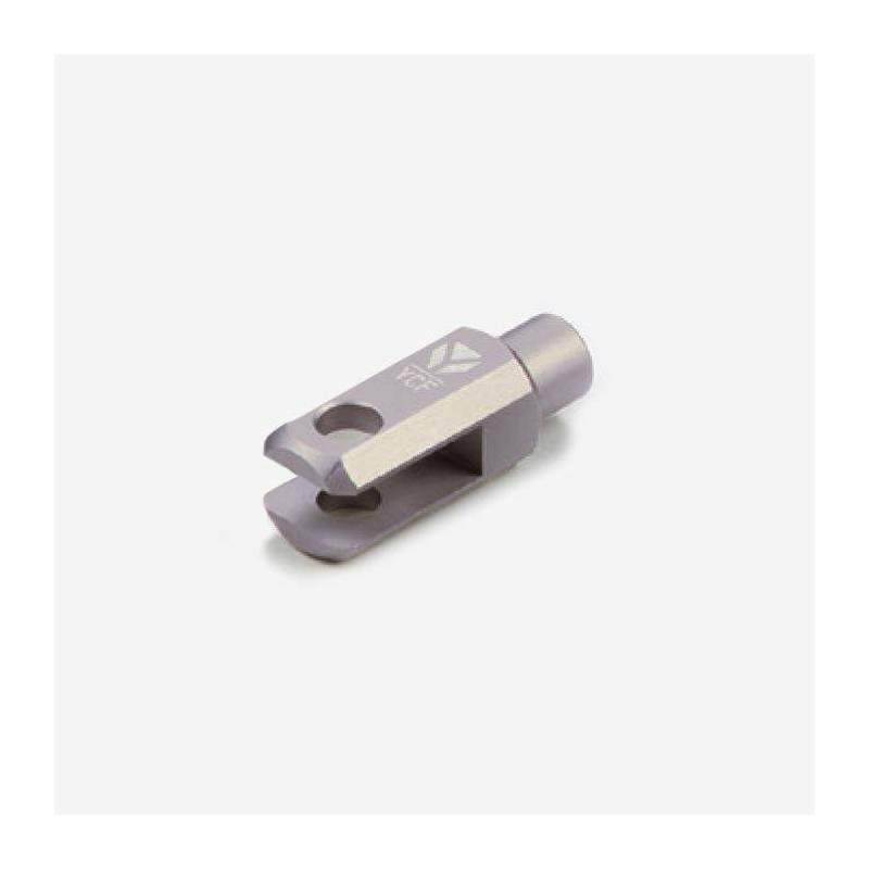 Registro cilindro freno posteriore CNC anodizzato - MAGNESIO