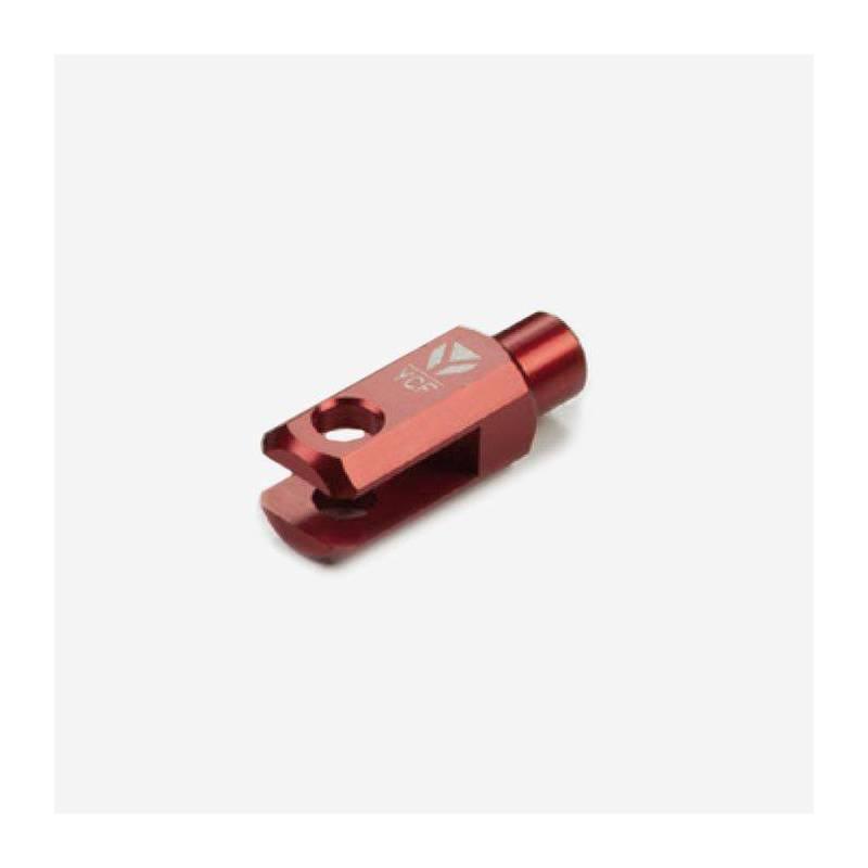 Registro cilindro freno posteriore CNC anodizzato - ROSSO