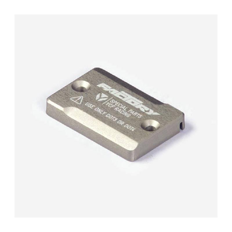 Tappo pompa freno anteriore in alluminio CNC anodizzato - MAGNESIO