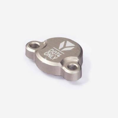 Tappo pompa freno posteriore in alluminio CNC- SILVER