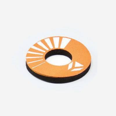 Donuts colore arancione