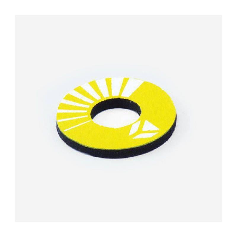 Donuts colore giallo