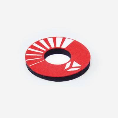 Donuts colore rosso