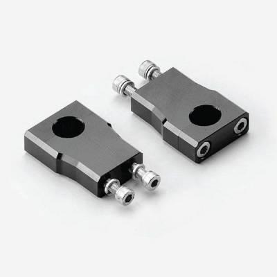 Supporti manubrio regolabili per manubrio diam. 22,2 interasse 25mm