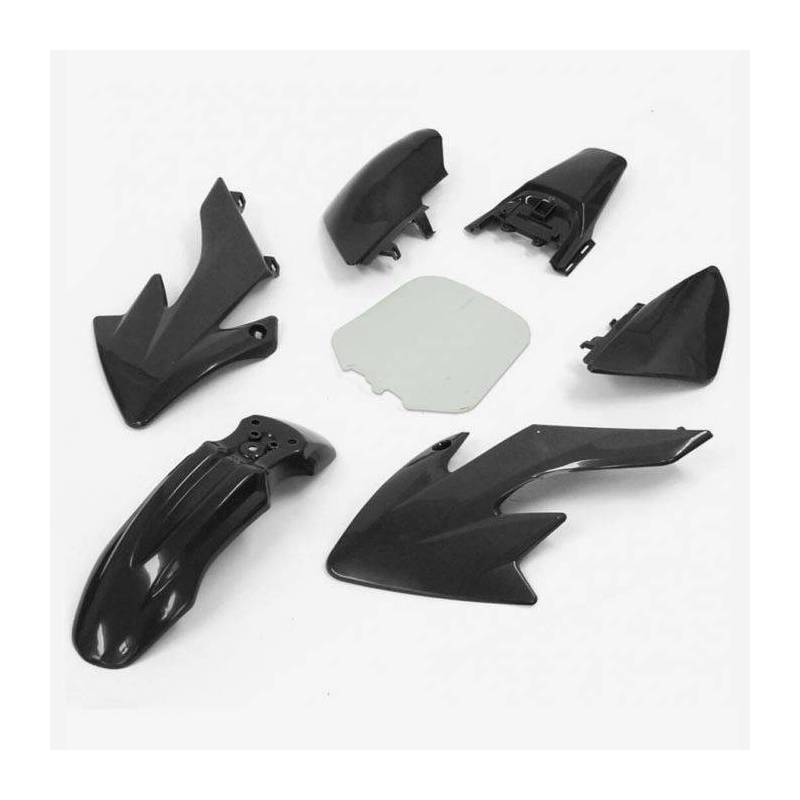 CRF50 Complete plastic kit Black