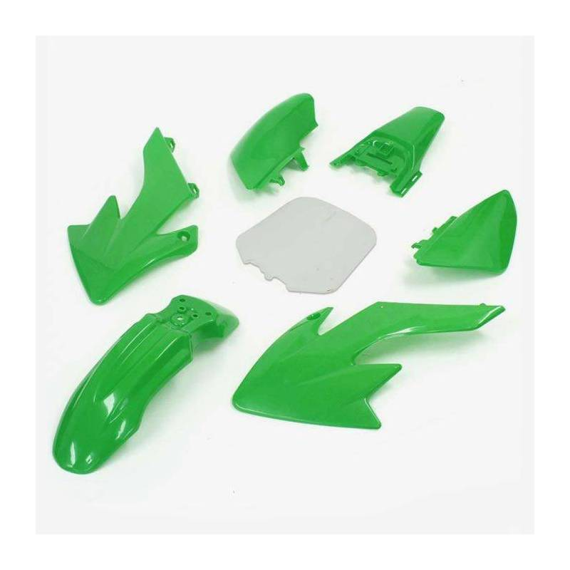 CRF50 Complete plastic kit Green