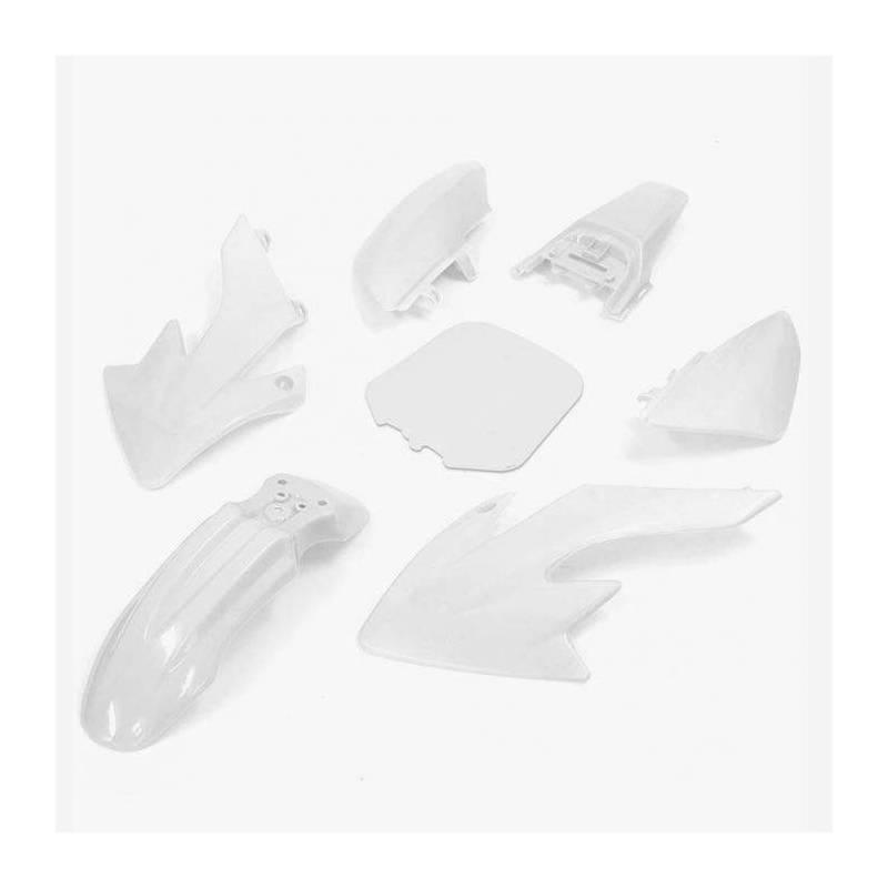 CRF50 Complete plastic kit White