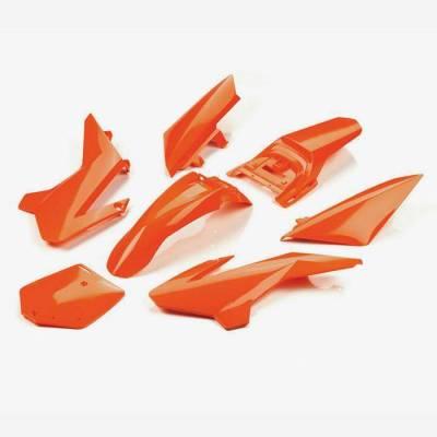 Kit plastiche complete YCF50  ARANCIONE