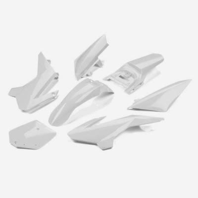 Kit plastiche complete YCF50 BIANCO