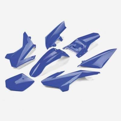 Kit plastiche complete YCF50 BLU