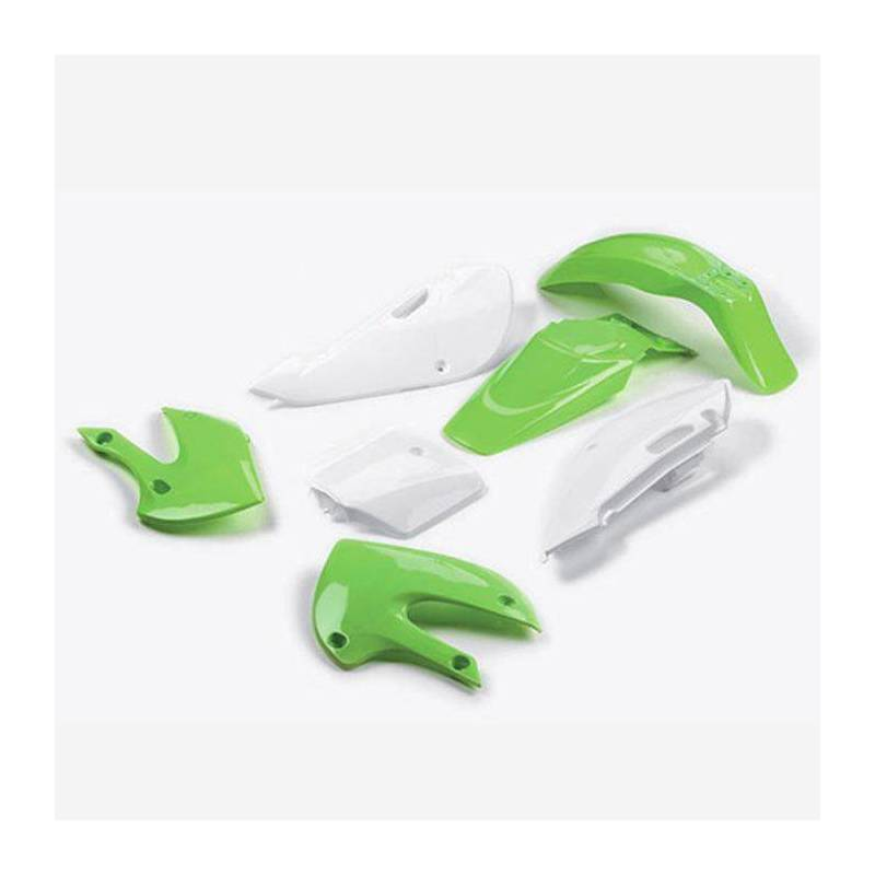 KLX Complete plastic kit Green