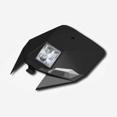 Tabella portanumero anteriore con faro YCF BIGY - NERO
