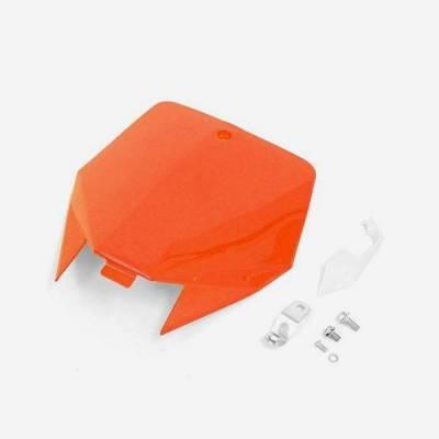 Tabella portanumero anteriore YCF- ARANCIONE