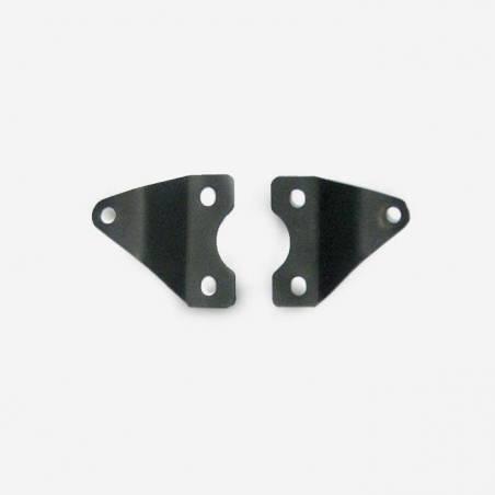 Coppia supporti motore telaio - NERO
