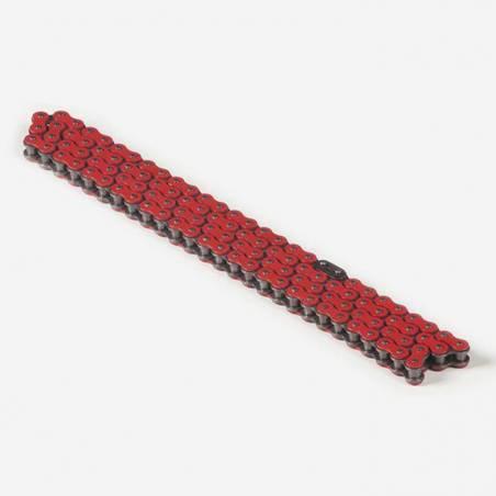 Catena rinforzata passo 420, 110 maglie - ROSSO