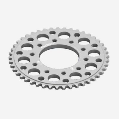 Corona in alluminio CNC 43 denti 420 anodizzata MAGNESIO